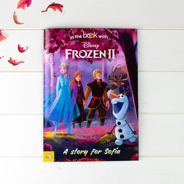 Disney Frozen 2 Personalised Story Book