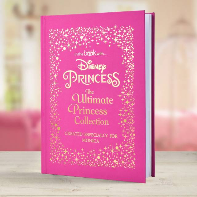 Personalised Disney Princess Ultimate Collection Hardback Story Book